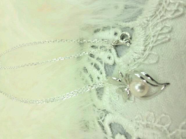 sv925アコヤ真珠ネックレス