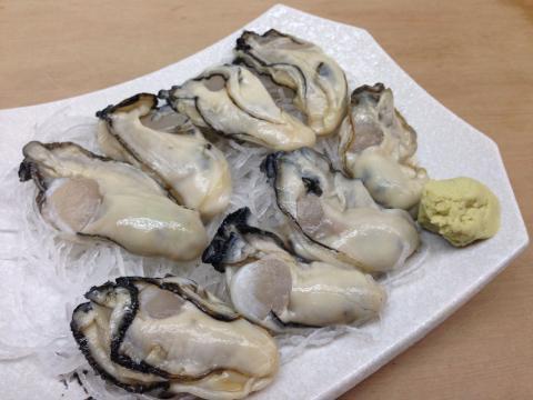 牡蠣の御造り