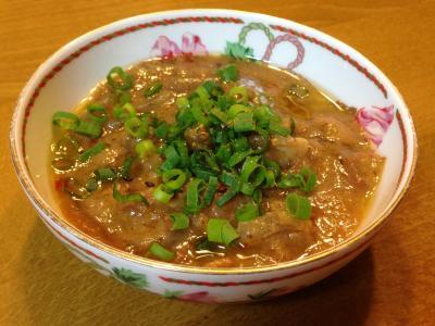 鶏皮味噌煮2