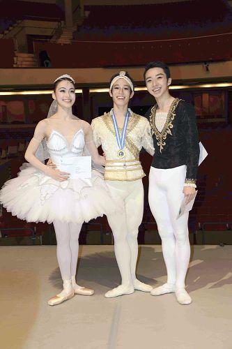 ローザンヌ国際バレエコンクール入賞の3人