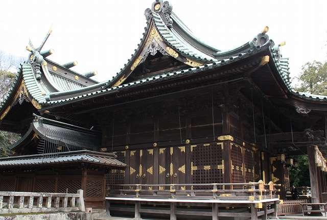 三嶋大社の本殿・幣殿・拝殿