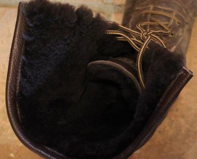 靴 ブーツ ムートンもこもこ