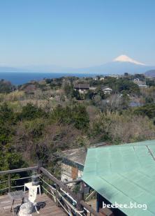 富士山を一望