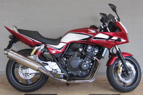 CB400SB赤白