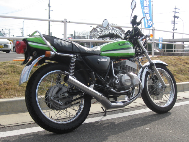 KAWASAKI  250  KH250