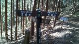 定峰峠のサイクリスト