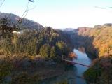 相模川に架かる弁天橋