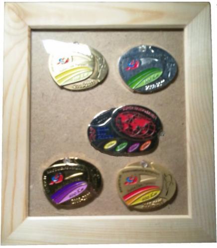 ブルベのメダル