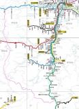 東海バス路線図