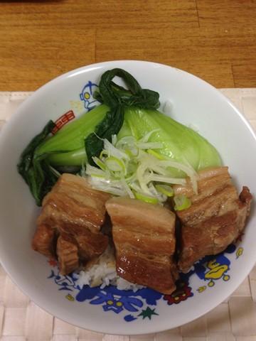 トンポーロー丼 (5) (コピー)
