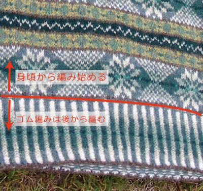 編み物作家akoのフェアアイル・ニッティング