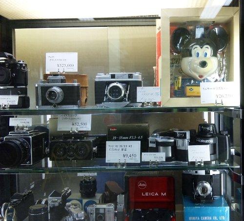 ミッキーのカメラ