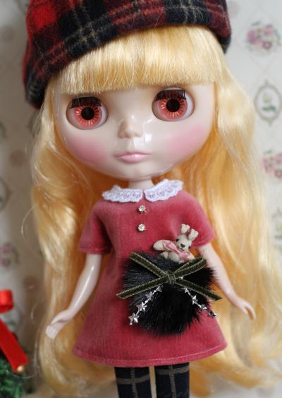 ブライス・クリスマスワンピ5