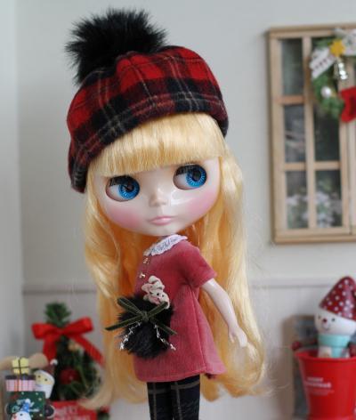 ブライス・クリスマスワンピ7