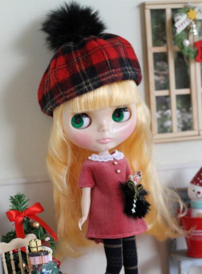ブライス・クリスマスワンピ6