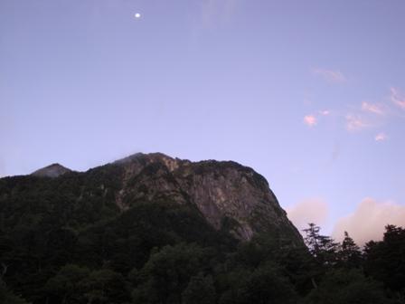 20110918奥穂高岳_屏風岩