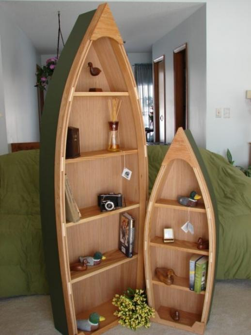 boat bookshelves plans