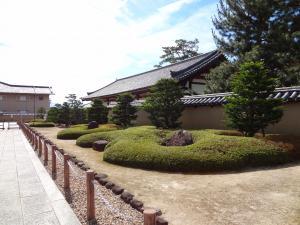 法隆寺庭園 300