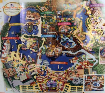 マジカルワンド地図