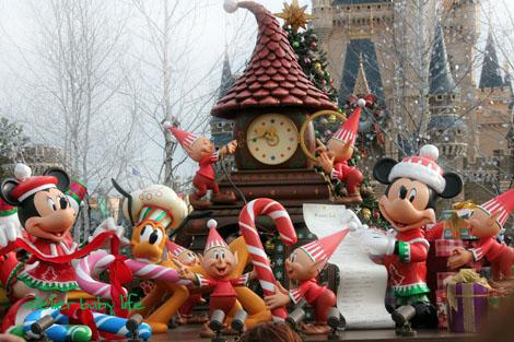 クリスマス ディズニーランド2011