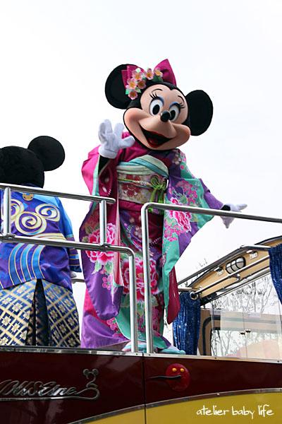ミニーちゃんの着物2012