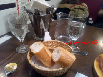 つばめグリルのパン