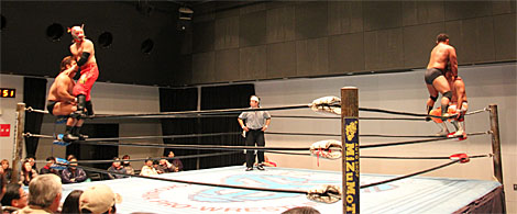 神威選手と松田選手