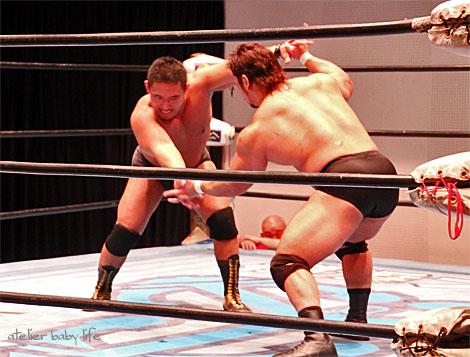 松田選手と関本選手