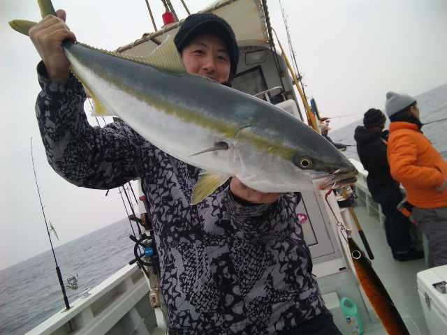 体デカいと魚ちゃいちー(^^;)