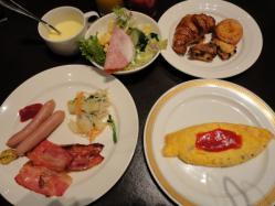 杉の井ホテル 朝食1