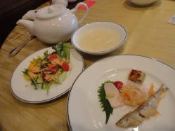 梅園 サラダ 前菜