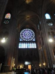 ノートルダム大聖堂バラ窓