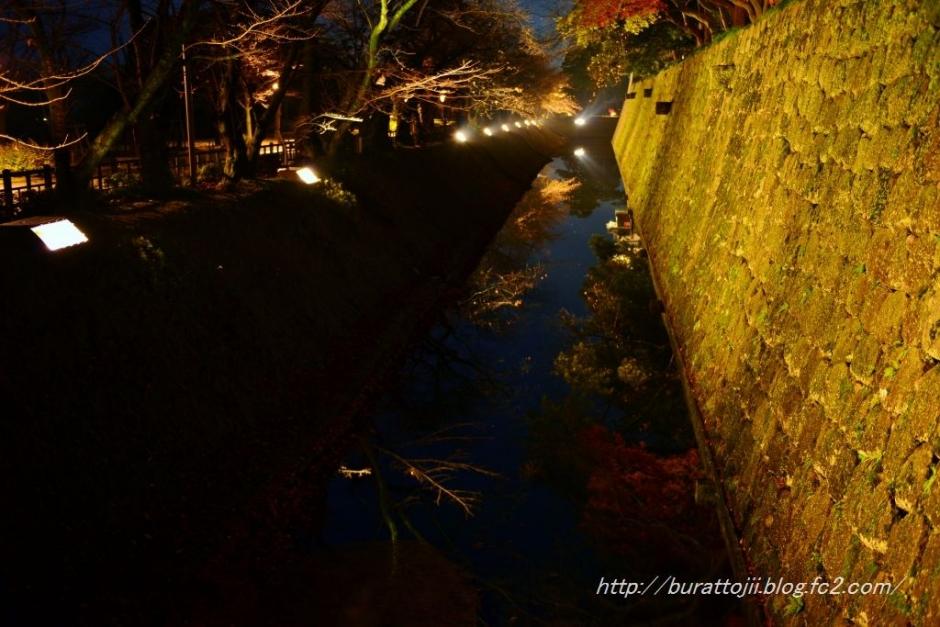 2.2013.11.24金沢城ライトアップ