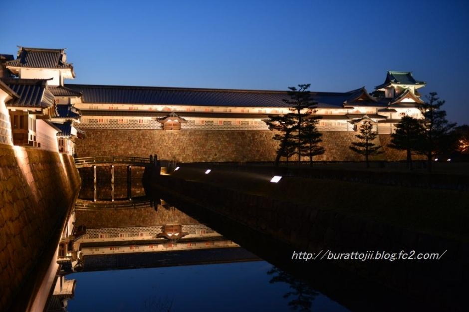 1.2013.11.24金沢城ライトアップ