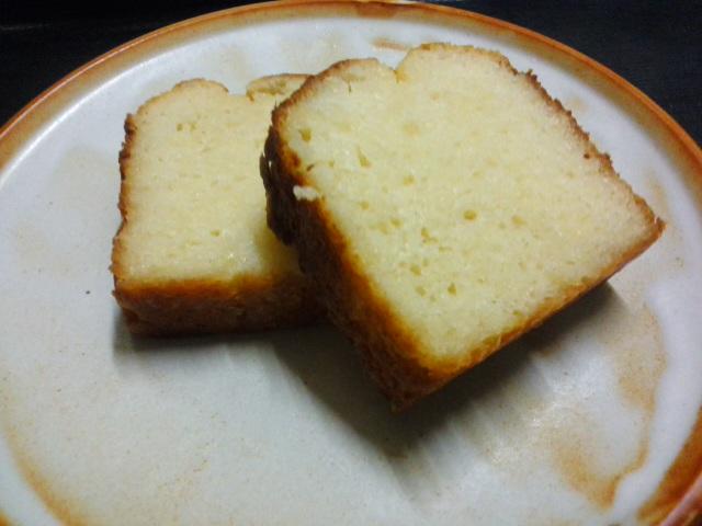酒粕ケーキ2014