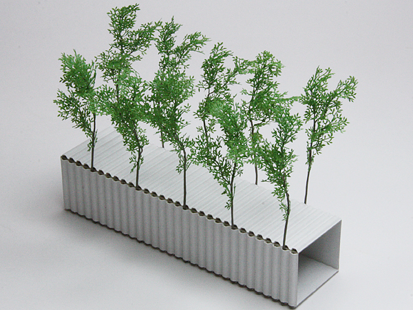 リアルパーツシリーズ・緑豊かな樹木