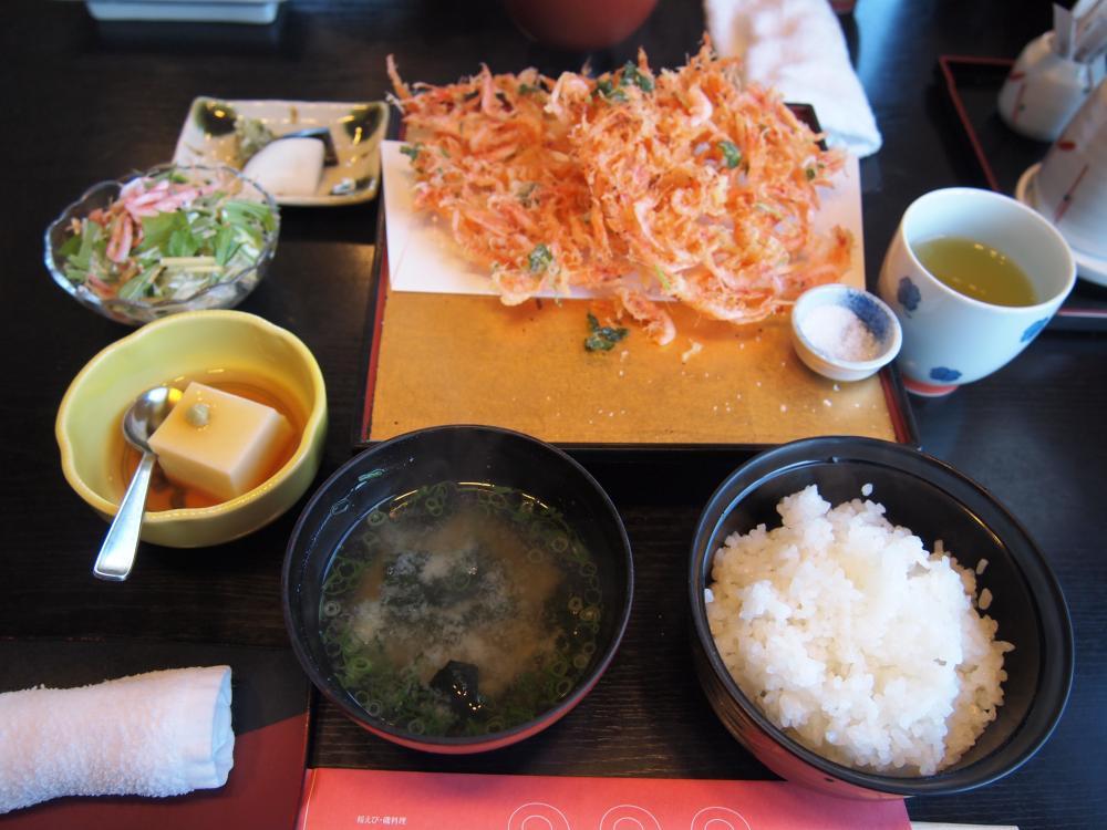 桜エビ定食