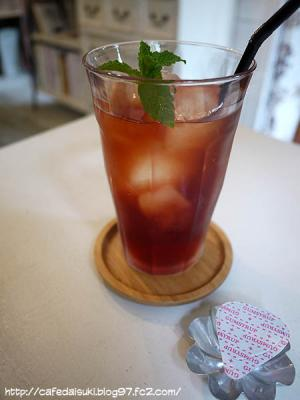 aina cafe◇Black Cherry Berry Tea