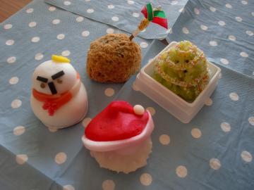 和菓子だってクリスマス
