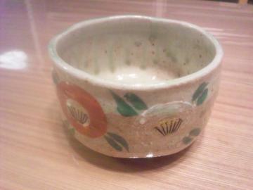 new椿茶碗♪