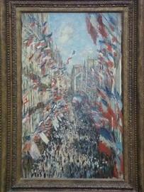モントルグイユ街 La rue Montorgueil, agrave; Paris. Fecirc;te du 30 juin 1878DSC004790025