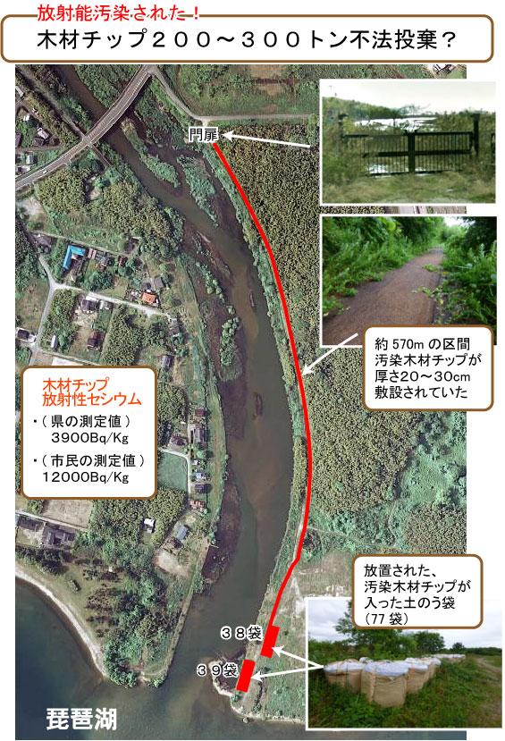 滋賀県汚染木材チップ問題