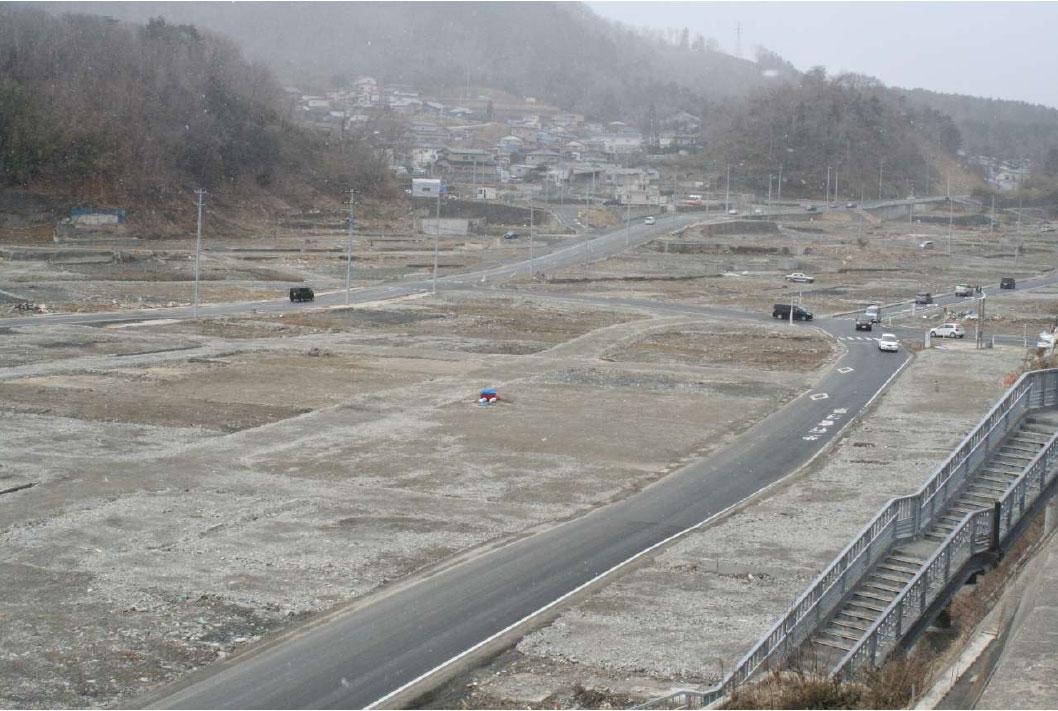 女川町の風景