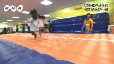 飛び回る子供たち