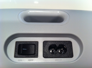 Bluetoothスピーカー背面