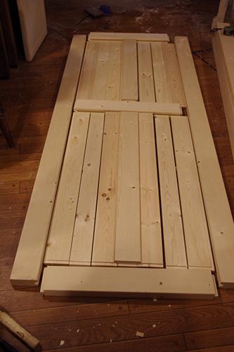 シンプルなウッドドアを自作