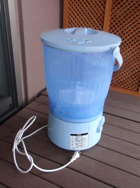 バケツ洗濯機