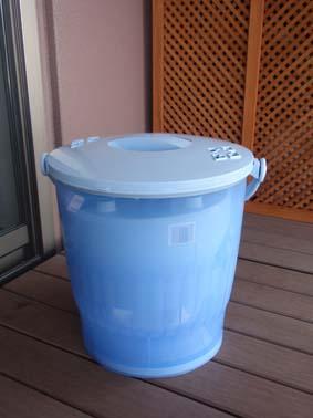 バケツ洗濯機2