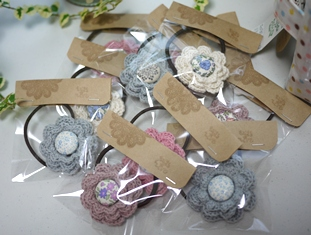 花モチーフヘアゴム3-021~30 111211