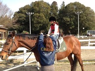 ももっち乗馬体験120320